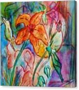 Wild Lily Canvas Print