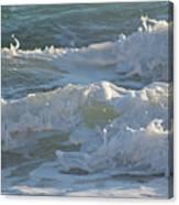 Wild Mediterranean Waves Canvas Print