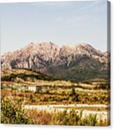 Wild Mountain Range Canvas Print