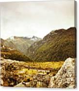 Wild Mountain Terrain Canvas Print