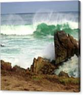Wild Pacific Two Canvas Print