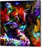 Wild Puma Colors Canvas Print