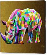 Wild Rainbow Canvas Print
