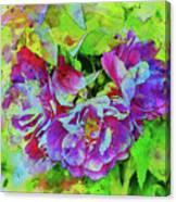 Wild Roses 3 Canvas Print