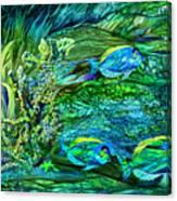 Wild Sargasso Sea Canvas Print