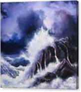 Wild Sea Canvas Print