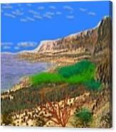 Wild Seashore Canvas Print