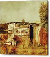 Wild West Australian Barn Canvas Print