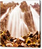 Wild West Water Fall Canvas Print