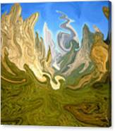 Wild Yosemite - Abstract Modern Art Canvas Print