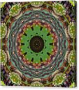 Wilder Flower Mandala Canvas Print