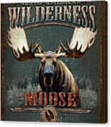 Wilderness Moose Canvas Print