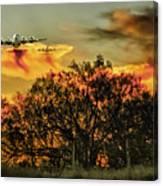 Wildfire C-130  Canvas Print