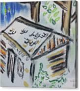 Wildflower Cabin Canvas Print