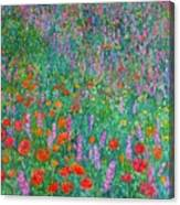 Wildflower Current Canvas Print