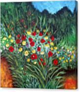 Wildflower Garden 1 Canvas Print