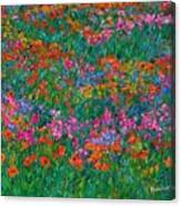 Wildflower Magic Canvas Print