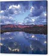 Wildhorse Lake Canvas Print