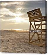 Wildwood Crest New Jersey Sunrise Canvas Print