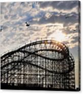 Wildwood Roller Coaster Canvas Print