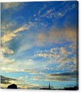 Wilkes Barre Sunset Two Canvas Print