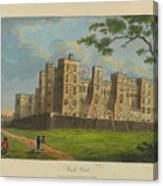 Wilkinson, Robert  58 Cornhill Windsor Castle Published 7 Aug 1813 Canvas Print