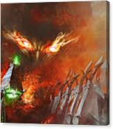 Will Of A Tyrant Canvas Print