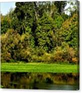 Willamette River Reflections 3813 Canvas Print