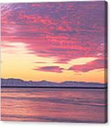 Willard Bay State Park, Near Great Salt Canvas Print