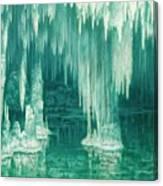 William Degouve De Nuncques 1867 - 1935 Belgian La Grotte Du Drac, Manacor Canvas Print
