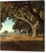 William Keith - California Ranch - 1908 Canvas Print