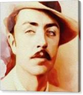 William Powell, Vintage Movie Star Canvas Print
