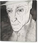 William S. Burroughs Canvas Print