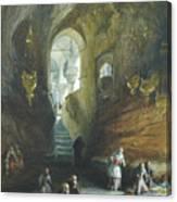 William Simpson Canvas Print