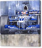 Williams Bmw Fw24 2002 Juan Pablo Montoya Canvas Print