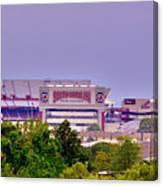 Williams - Bryce Stadium Canvas Print