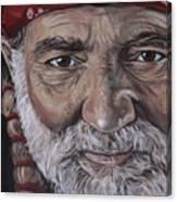 Willie Canvas Print