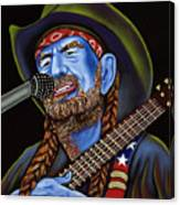 Willie Canvas Print