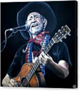 Willie Nelson 2 Canvas Print