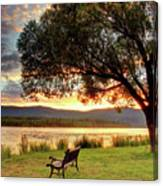 Willow Bay Canvas Print
