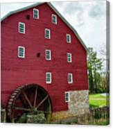Willow Grove Mill Spring Day Canvas Print