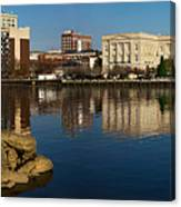 Wilmington Nc Waterfront Canvas Print