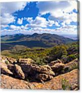 Wilpena Pound And St Mary Peak Canvas Print