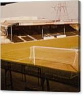 Wimbledon Fc - Plough Lane - Main Stand 1 - 1969 Canvas Print