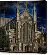 Winchester Cathedral Canvas Print