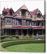 Winchester Mystery House Canvas Print