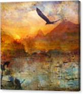 Wind Beneath My Wings Canvas Print
