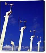 Wind Energy Turbines Canvas Print