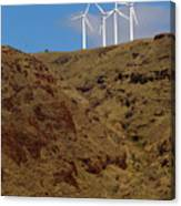 Wind Generators-signed-#0368 Canvas Print