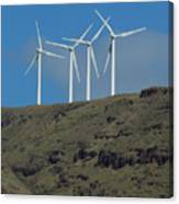 Wind Generators-signed-#0371 Canvas Print
